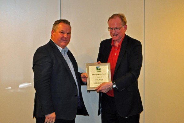 Michael Clark Chiltern Chamber special recognition award