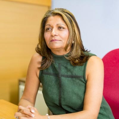 vee Bharakda Chair of Chiltern Chamber