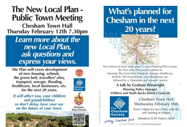 chesham meeting posters feb 2015