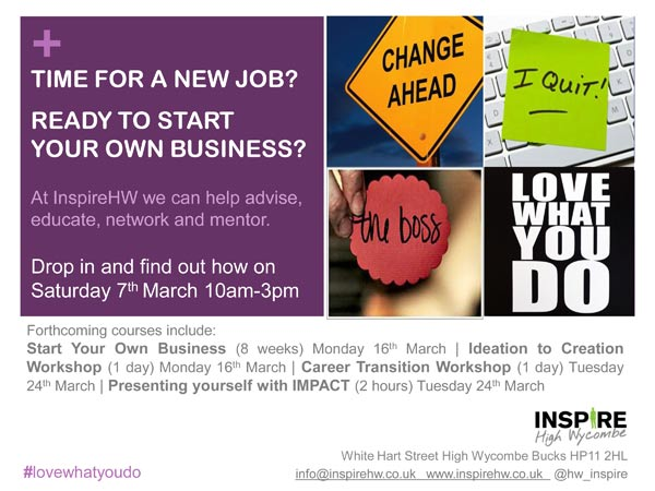 Inspire Open Day posted March 7 2015th