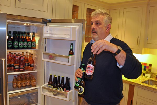 tim coles of coles trading displays imported beers chiltern chamber food and drink evening april 2015