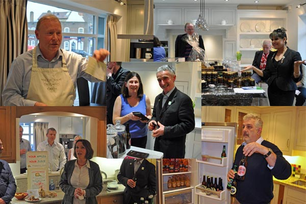 five great food and drink businesses at chiltern chamber april networking
