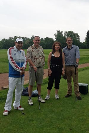 Chiltern Chamber Golf Day 2015 - Parrot & Coles team