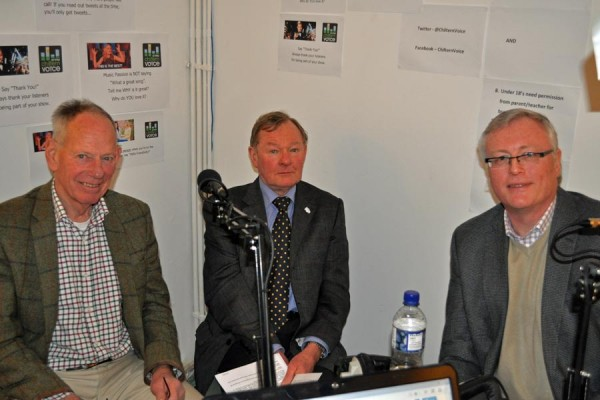 Robert Gibson, Peter Martin and Tony Molesworth on Chiltern Voice