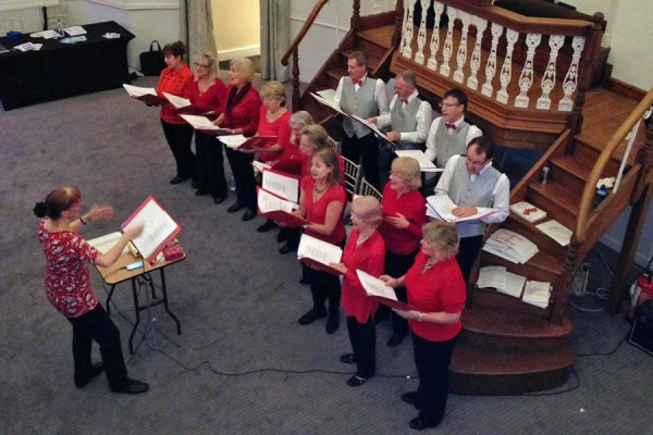 seasonal music programme at Chiltern Chamber Xmas event