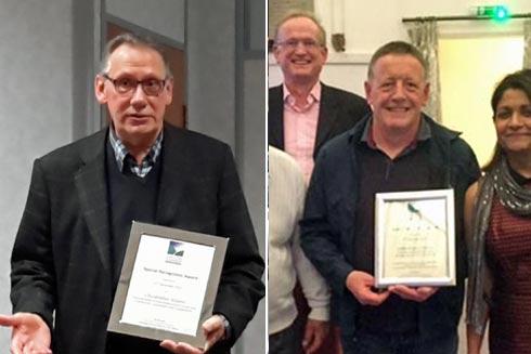 chiltern chamber award winners cliff davies and chris wilson