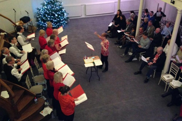 Panda Players Xmas concert for Chiltern Chamber