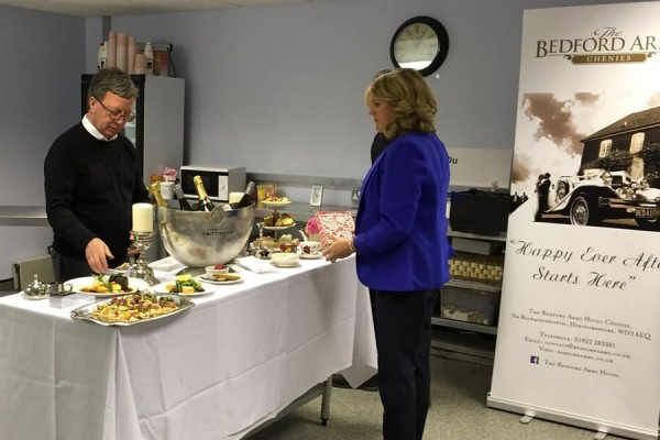 The Bedford Arms Chenies at Chiltern Food Heroes event April 2016