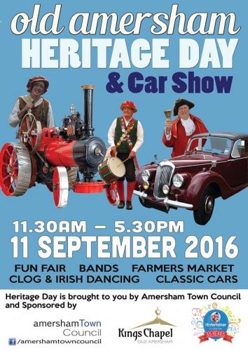 heritage open day poster amersham
