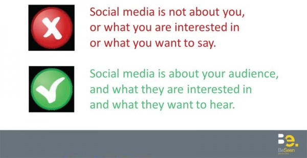 golden rules of social media