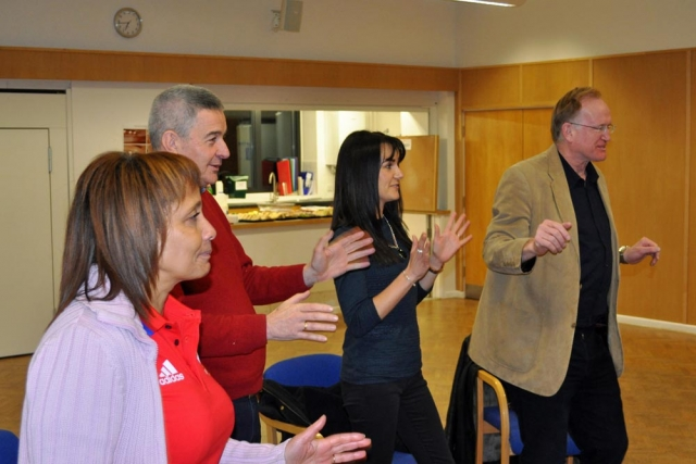 Chiltern Chamber Laughter Yoga and networking session