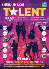 Amersham's Got Talent poster
