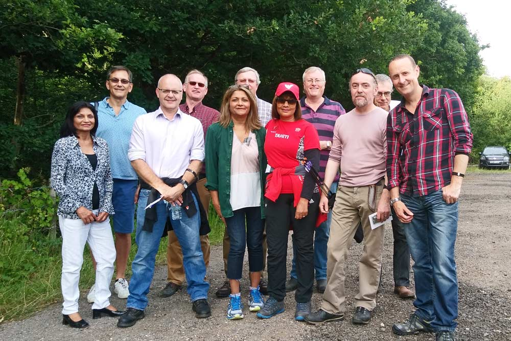 chiltern chamber archery evening with white mark bowmen